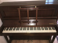 Shuman Upright Piano