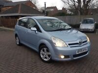 **05 TOYOTA COROLLA VERSO 1.8 PETROL.BLUE.MOT. MPV**7 SEATER**ALLOY WHEELS.GOOD RUNNER PX WELCOME**