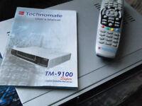Technomate 9100 super satellite reciever with remote