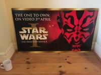 Official Star Wars Episode 1 Movie Poster – Darth Maul