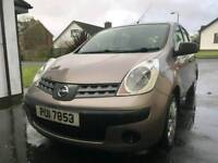 2007 nissan note s 1.4 petrol with full year mot
