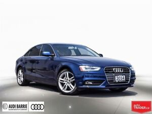 2014 Audi A4 2.0 8sp Tiptronic Technik Navigation