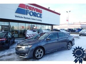 2013 Toyota Camry SE, Seats 5, 31,188 KMs, 2.5L Gas, Backup Cam