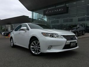 2013 Lexus ES 300h Technology Pkg Navi Back Up Cam Leather Sunro