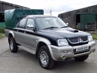 2005 MITSUBISHI L200 2.5TD 4LIFE 4WD - NO MOT - FULL SERVICE HISTORY - TRADE IN TO CLEAR