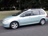 Peugeot 307 SW 110 HDI 2.0 - Diesel - Estate - 6 seats family car.