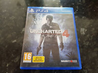Uncharted 4 Ps4 Swap for Prey PS4