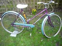 Beautiful 1979 vintage ladies Vindec (England) bike.