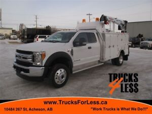 2017 Ford F-550 XLT 4X4, SERVICE TRUCK UNUSED