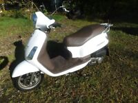 Scooter Sym Fiddle 125cc. As New. Excellent Condition.300 miles