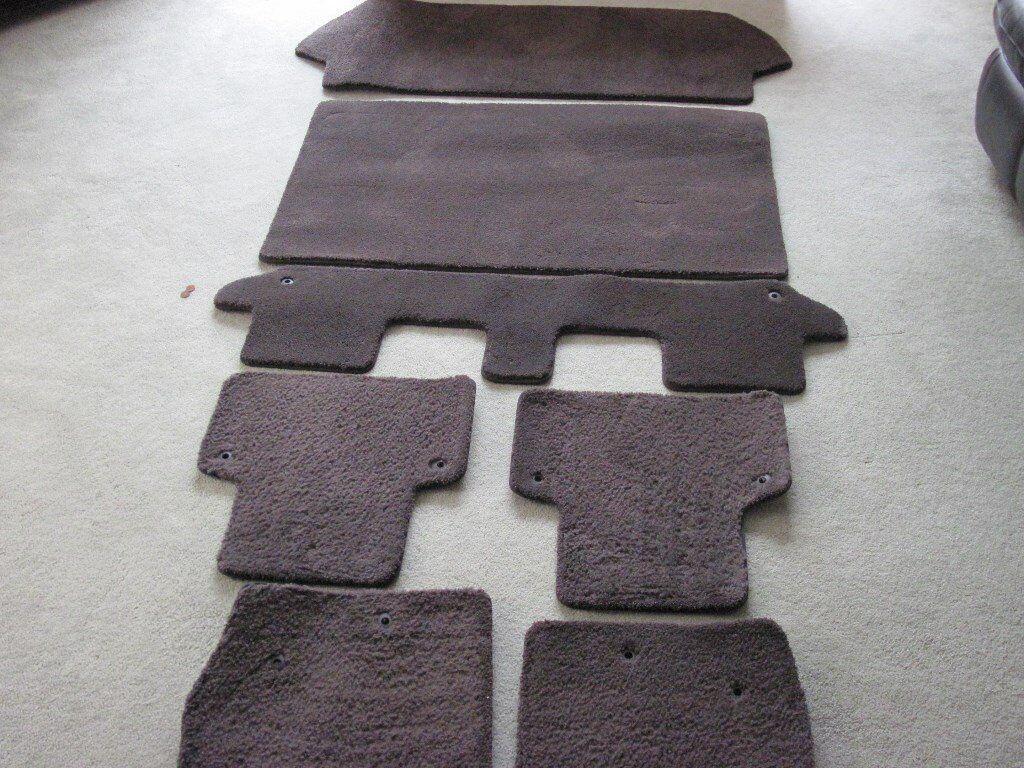 Floor mats xc90 - Genuine Full Set Of Volvo Xc90 Executive Floor Mats 2003