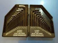 30 piece hex key set