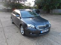 toyota avensis 2.0 d4d diesel spirit2006 56 leather stunning car cheapest on sale hpi clear