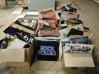 Relisted Big Joblot of various mixed Soul, Funk, Disco, Pop, Folk and Classical vinyl records 750+