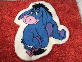 Eeyore nursery rug
