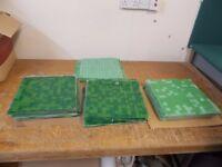 Hessian backed Mosaic tiles (Job lot)