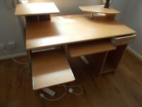 Computer desk free collection from Thorpe Willoughby Selby