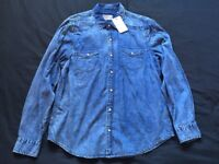 New (River Island) denim shirt – Size XL