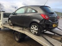 SCRAP CARS, RUNNERS AND NON RUNNERS, MOT FAILURES ETC WANTED. £££ FREE COLLECTION.