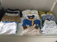 Baby boy 0-3 months clothes