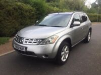 NISSAN MURANO 3.5 V6 TOP OF THE RANGE FULLY LOADED **CHEAP CAR**