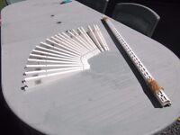 Shelving Brackets 20cm - White metal (20 brackets)