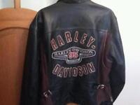 Harley Davidson limited edition leather jacket