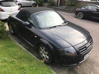 2004 Audi TT Quattro PERFECT NEW AUTO ROOF. MOT. LEATHER. CRACKED BUMPER DRIVES AS NEW