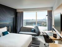 Novotel Canary Wharf hotel reservation for 2 2/4/2018-4/4/2018