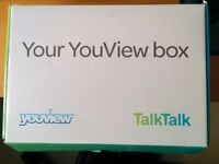 YouView Set Top Box from Talktalk, Unused, in Original Wrapping and Box