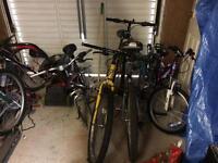 Bikes joblot