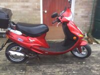 2 stroke 50cc moped for sale