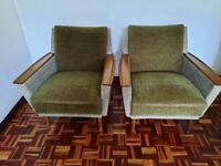 2 Vintage armchairs