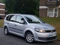 62 REG 2012 VW TOURAN 1.6 TDI DSG AUTOMATIC - 7 SEATER - PX WELCOME
