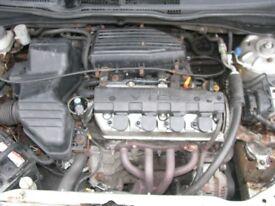 Honda Civic EP2 1600 Sport Engine