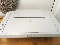 Canon pixma printer scanner full set ink