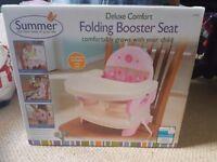 Deulux comfort booster seat