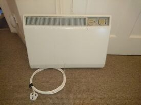 Heater Radiator Electric White Portable Wall Mounted 17x 24 inches