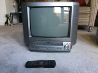 """FREE Very old AIWA 14"""" TV, with built in Video!"""