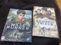 Maze Runner DVDs