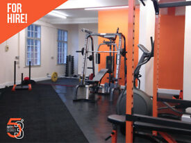 Therapy Room/Personal Training Suite/Fitness studio in heart of Chesterfield