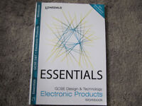 Essentials GCSE DT Electronic Products Workbook by Lonsdale - £3
