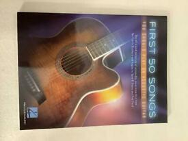 First 50 songs book