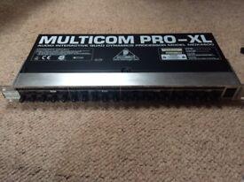 Behringer Multicom Pro XL MDX4600 4 channel Compressor/Limiter x2