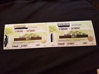 2 x Creamfields Saturday Tickets