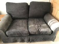 Free Grey 2 seater sofa and matching armchair