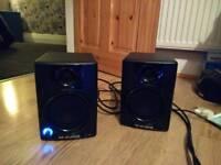 M audio av 40 DJ speakers