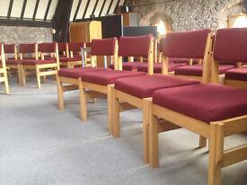 31 Original Church Chairs.