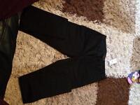 Womans black ralph lauren jeans