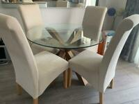 Next table and 4 chairs